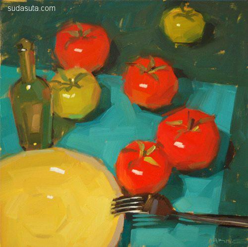 美国油画家 Carol Marine
