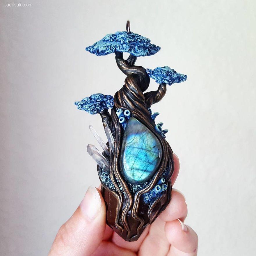 Cheryl Lee 带着魔法的珠宝设计作品