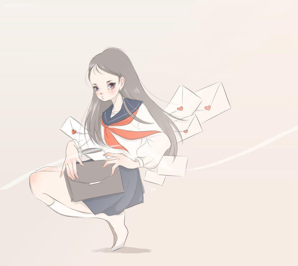 日本插画家 EARTHER