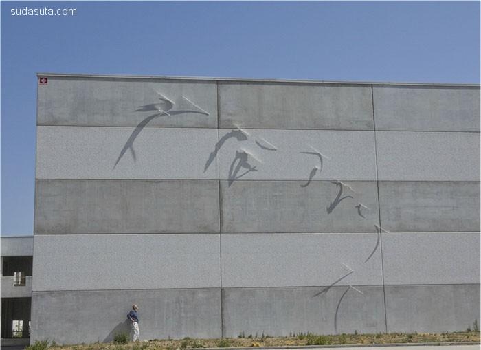Fabrizio Corneli 影子的艺术 装置设计欣赏