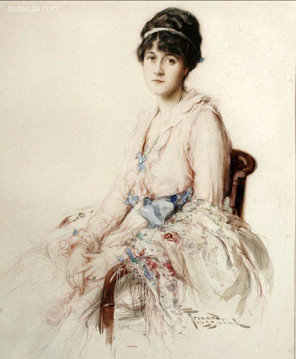 Fernand Toussaint 古典主义油画艺术欣赏
