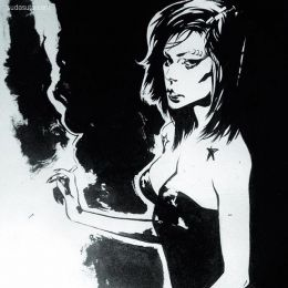 Francesca Ciregia 黑白漫画欣赏