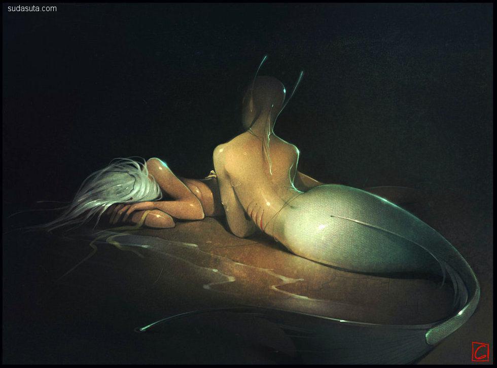 Gaudi Buendia 概念插画欣赏