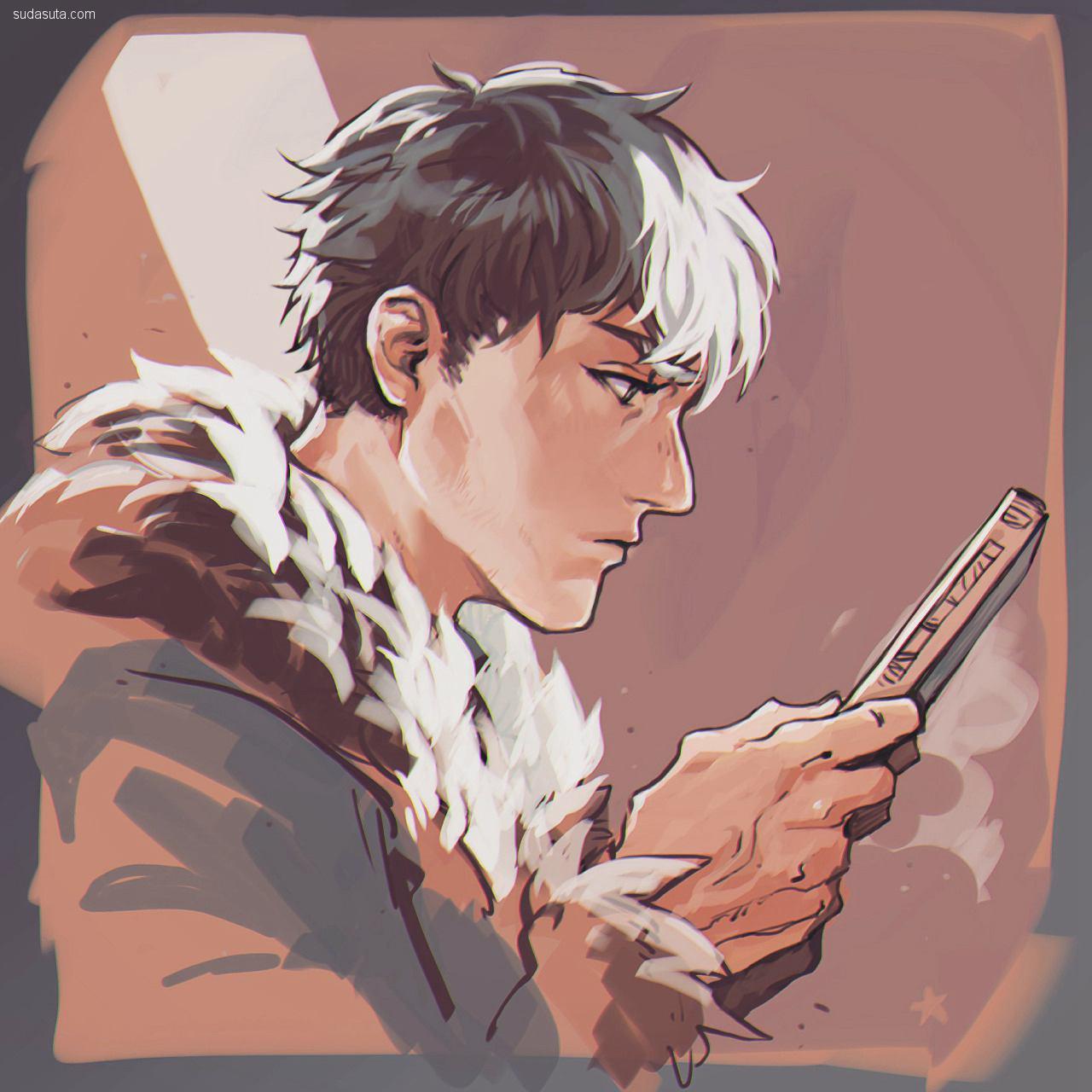 Hosino Hikaru 二次元手绘漫画欣赏