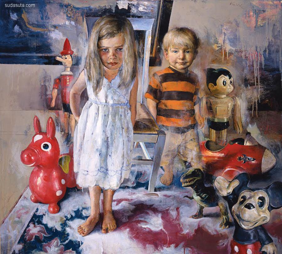 Kent Williams 绘画艺术欣赏