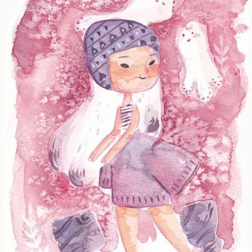 Lydia Sanchez 儿童插画欣赏