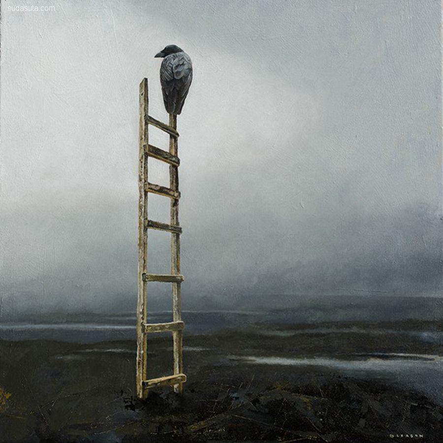 Mark Gleason 超现实主义绘画作品欣赏