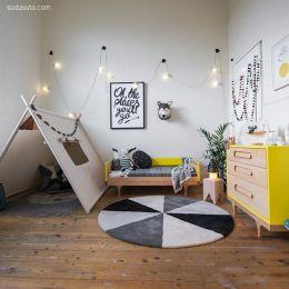 Milka Interiors 温暖迷人的卧室设计