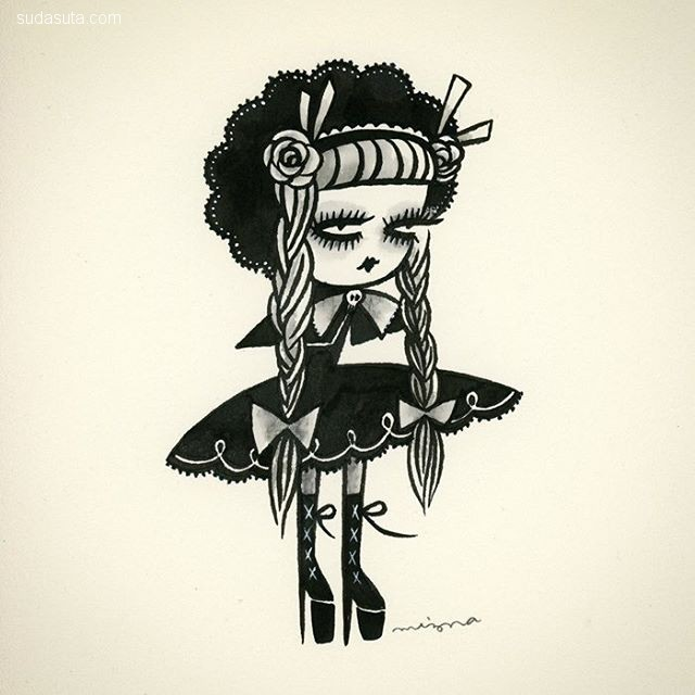 Mizna Wada 可爱迷人的小女巫