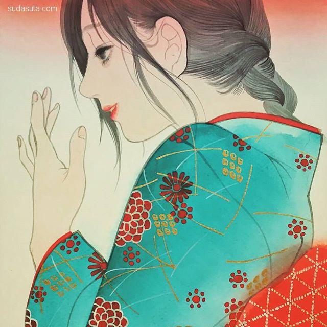 細川成美 Narumi Hosokawa 二次元和服美少女