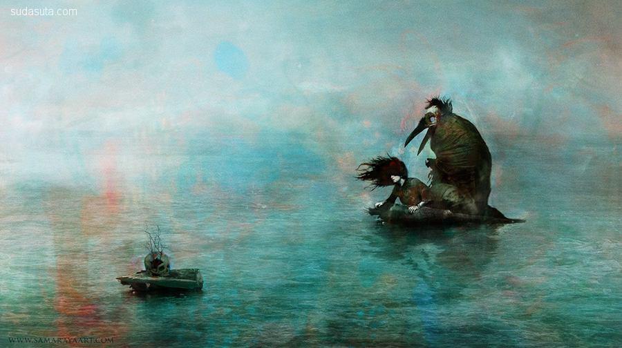 Samuel Araya(Paintagram) 描绘梦魇