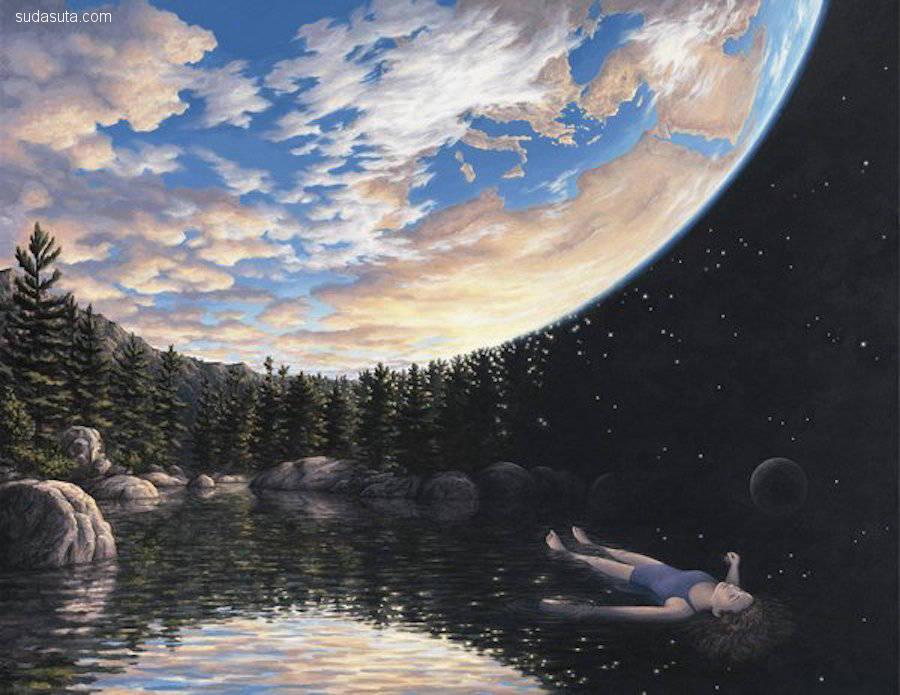 Rob Gonsalves 超现实主义绘画艺术
