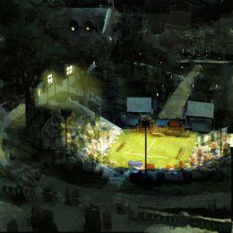 Robert Kondo 手绘场景插画欣赏