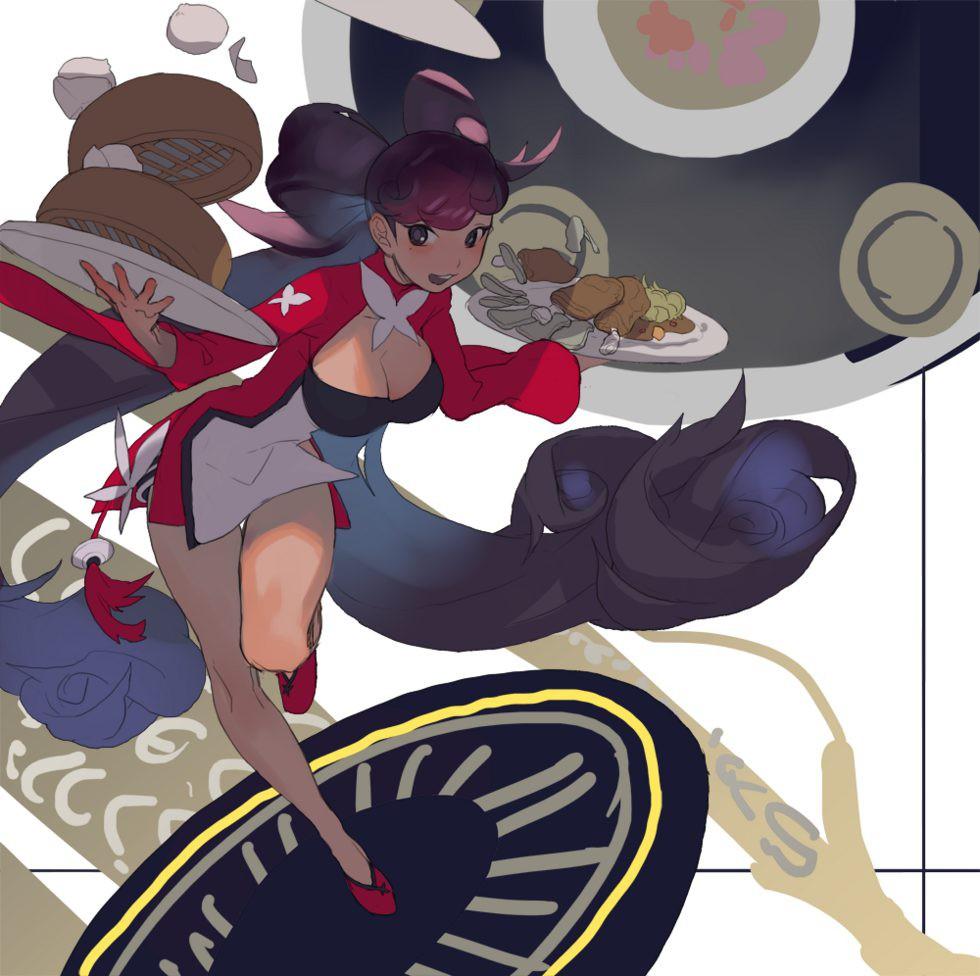 韩国插画家 SHIHYUN/시현 数字艺术作品欣赏