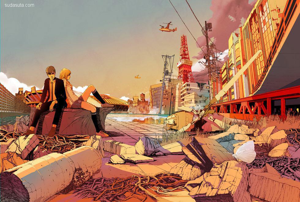 江杉(Shan Jiang)绘画艺术欣赏