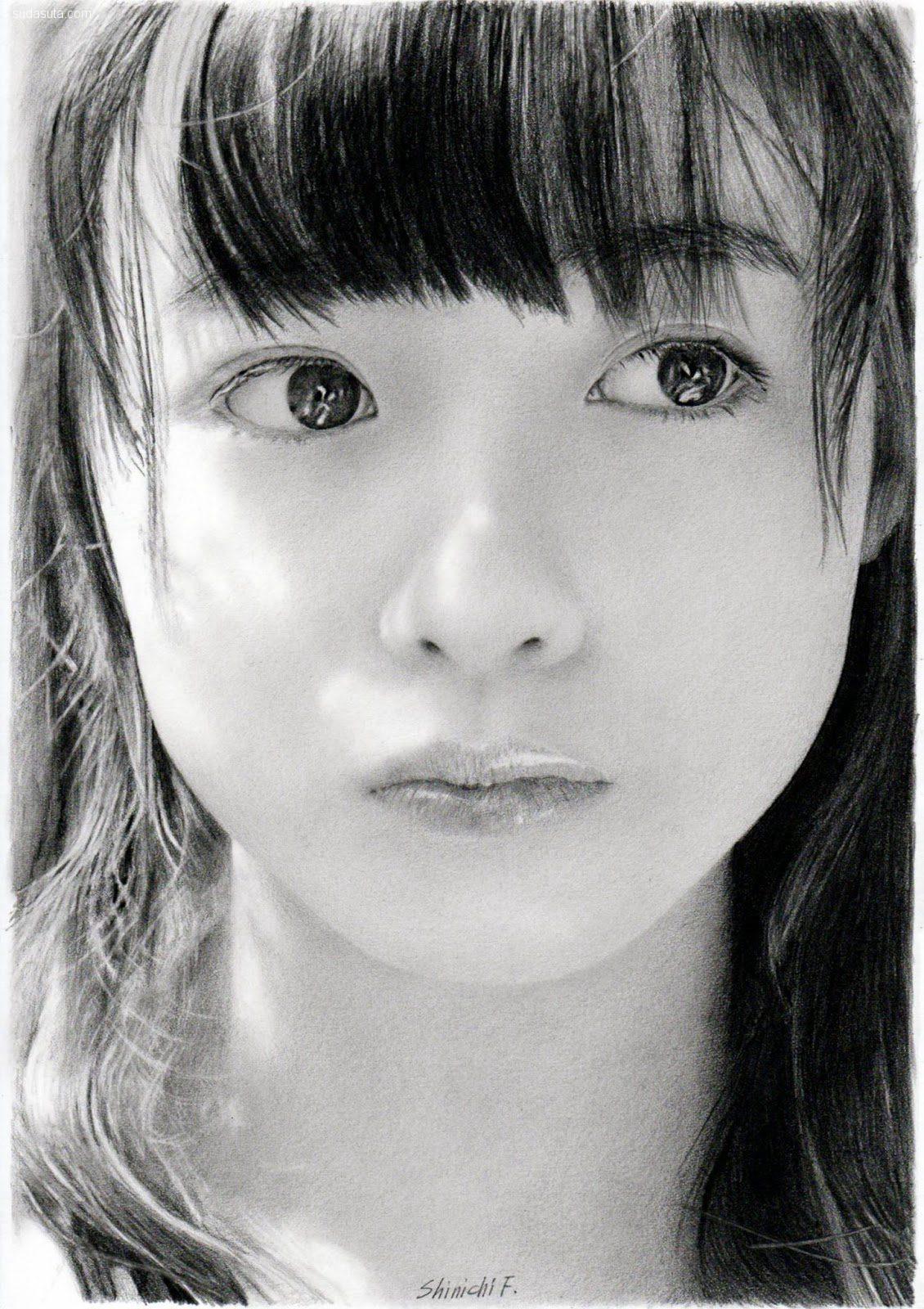 古谷振一(Shinichi Furaya) 人像插画欣赏