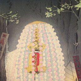Shiro Kasamatsu 日本印象 传统绘画欣赏