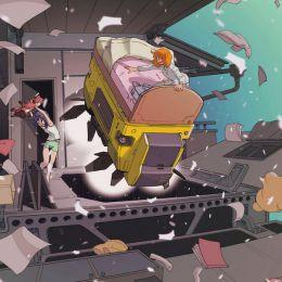 Sukabu 机械与少女 漫画CG欣赏