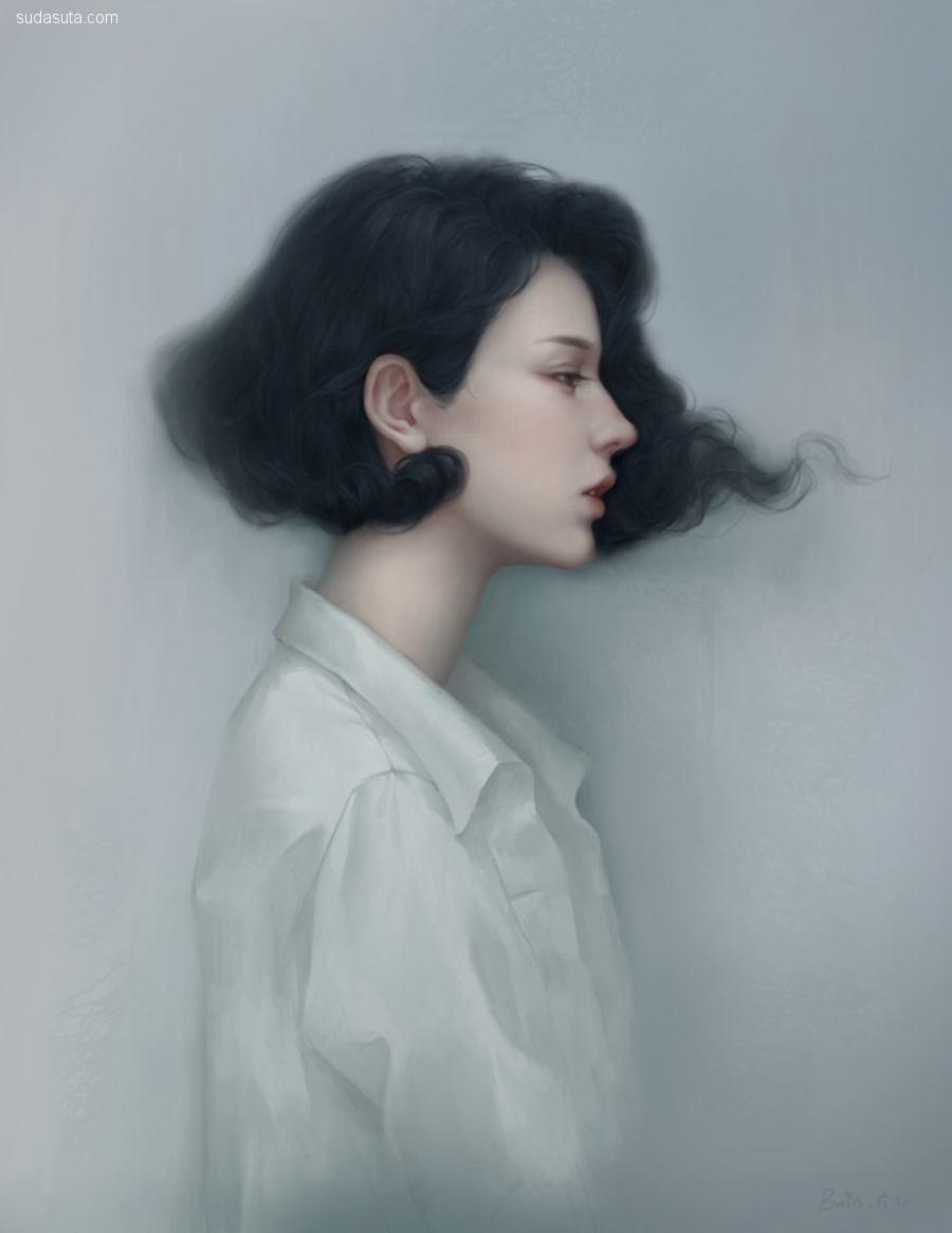 bain-片片 唯美梦幻的概念插画欣赏