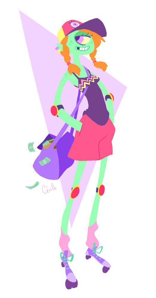 Cécile de Gantès 卡通造型设计欣赏