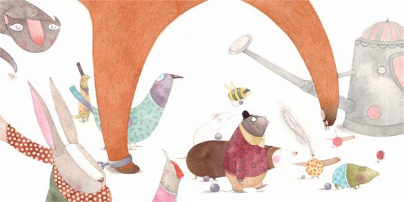 Christine Pym 儿童插画欣赏
