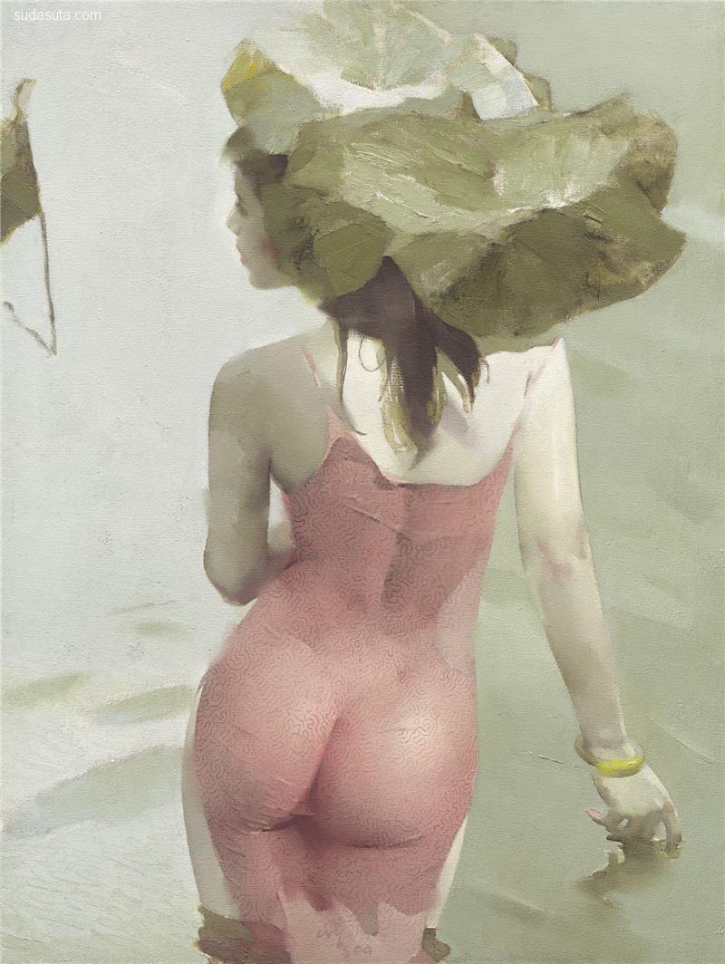 林纯孝 人像绘画作品欣赏