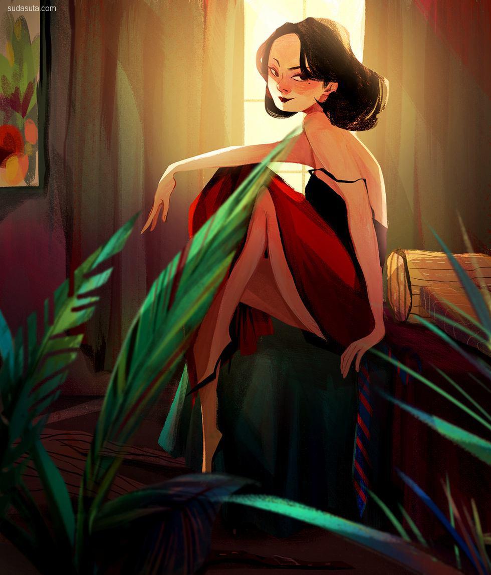 Crystal Kung/孔思雯 卡通造型设计欣赏