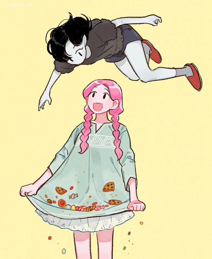 ji-hum 少女造型设计及漫画欣赏