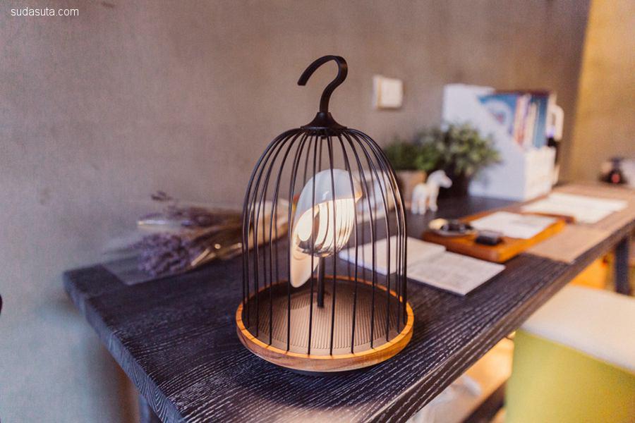 JinGoo 可爱的小鸟造型灯及蓝牙音箱