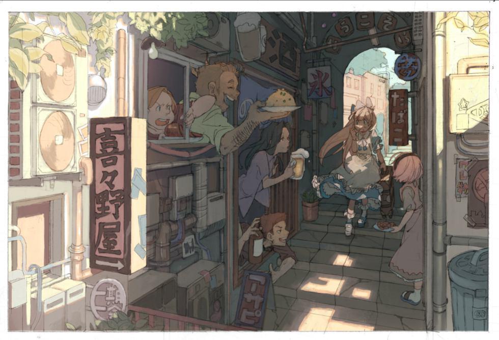かしまき@ka_4maki 卡通漫画欣赏