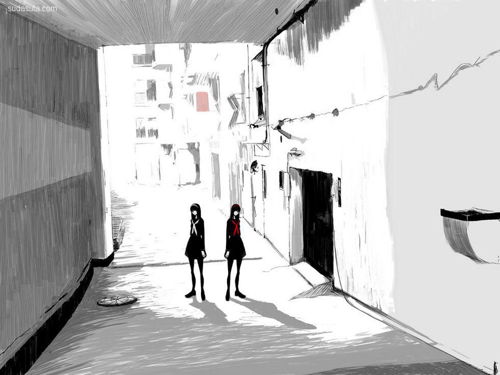 えむかみ 空旷天空 少女漫画欣赏