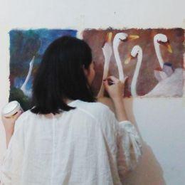 银栗子 原创手绘作品欣赏