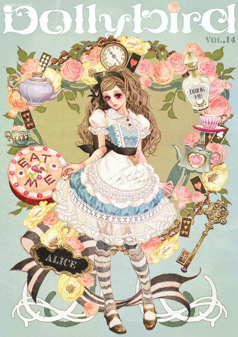マツオヒロミ 蔷薇与少女