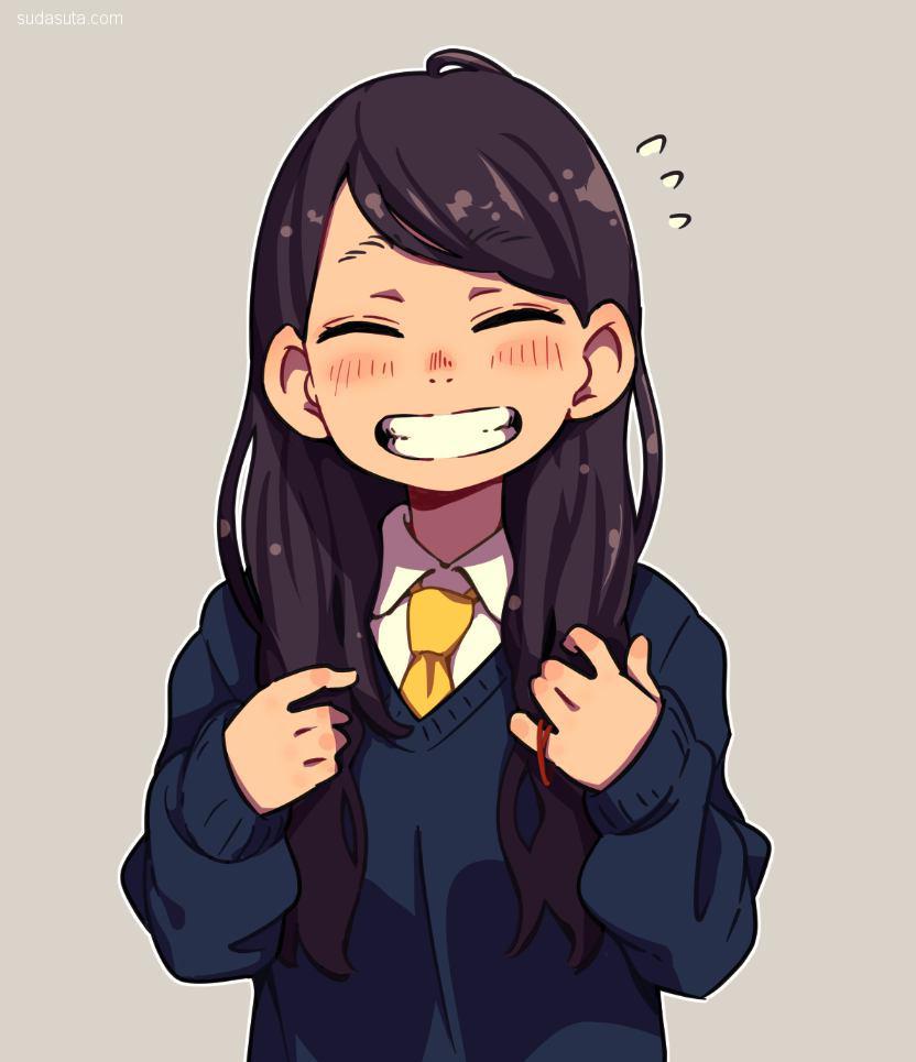 もにおにうむ 二次元美少女的微笑