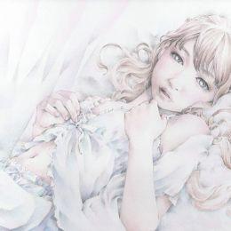 ひらのにこ 少女与风 细腻唯美的手绘插画