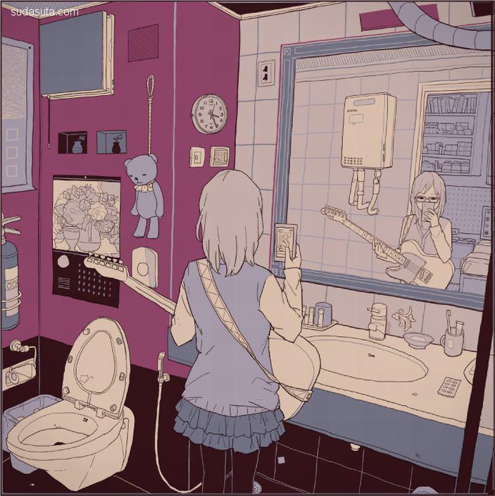 にほへ 二次元少女漫画欣赏