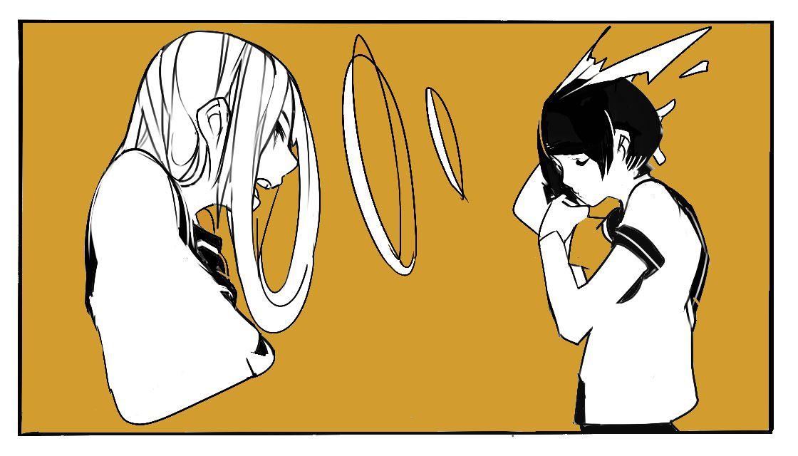 ツネヒゴロ 像素风格的少女漫画