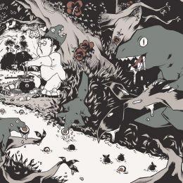 法国插画师 Thomas Rouzière 手绘涂鸦本子