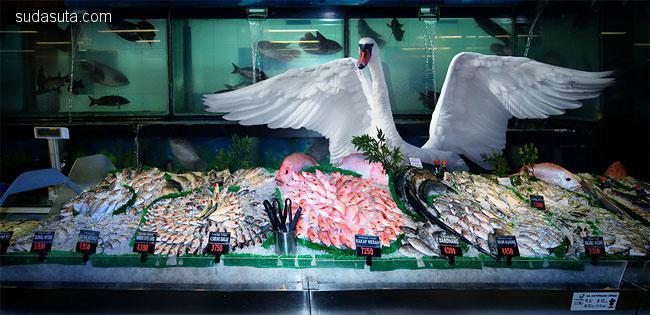 Agan Harahap 野生动物在超市