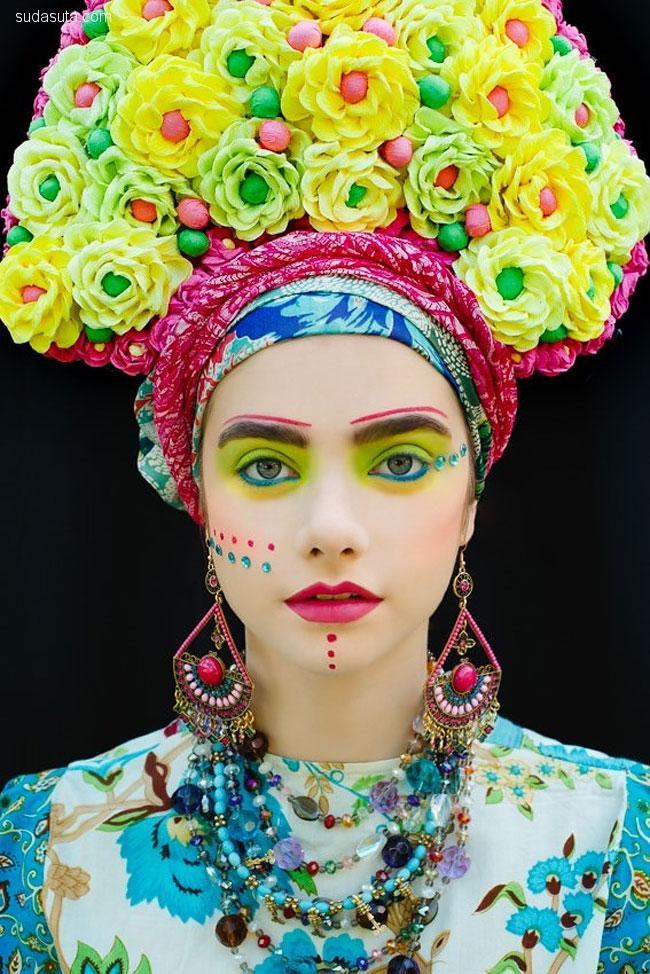 Beata Bojda 彩妆设计欣赏