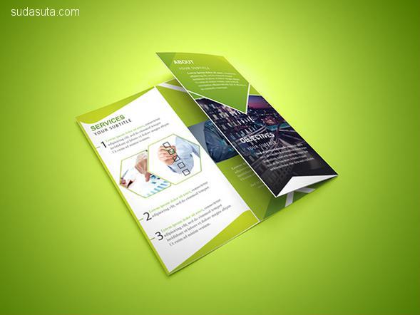 20个免费的手册模板PSD/AI/EPS下载