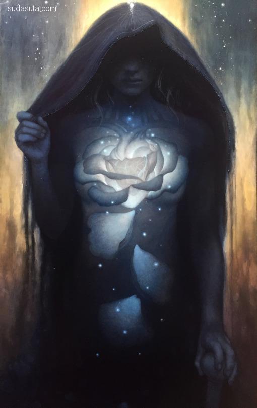 Heather McLean 超现实主义绘画艺术欣赏