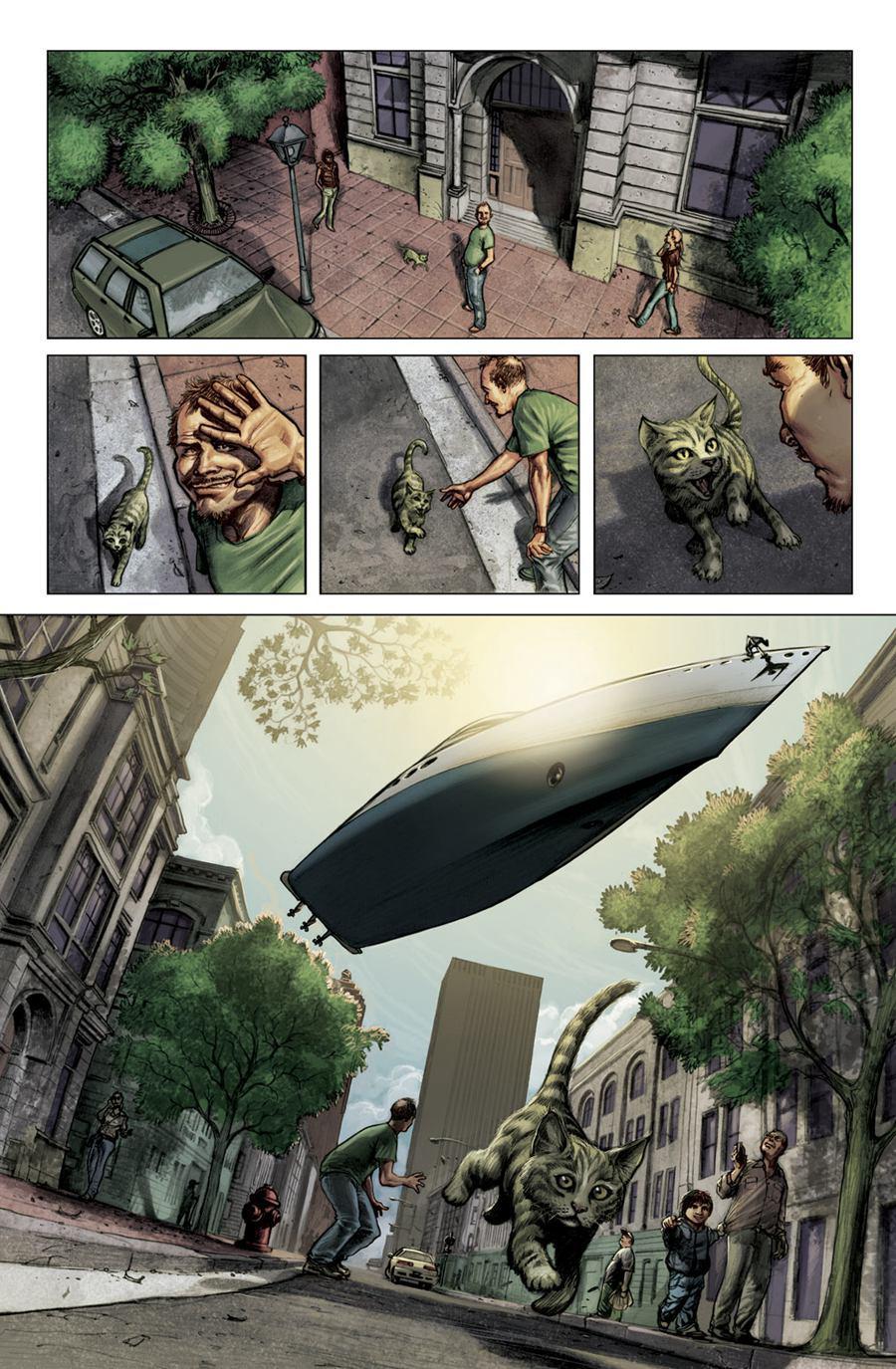 Juan Ferreyra 漫画作品欣赏
