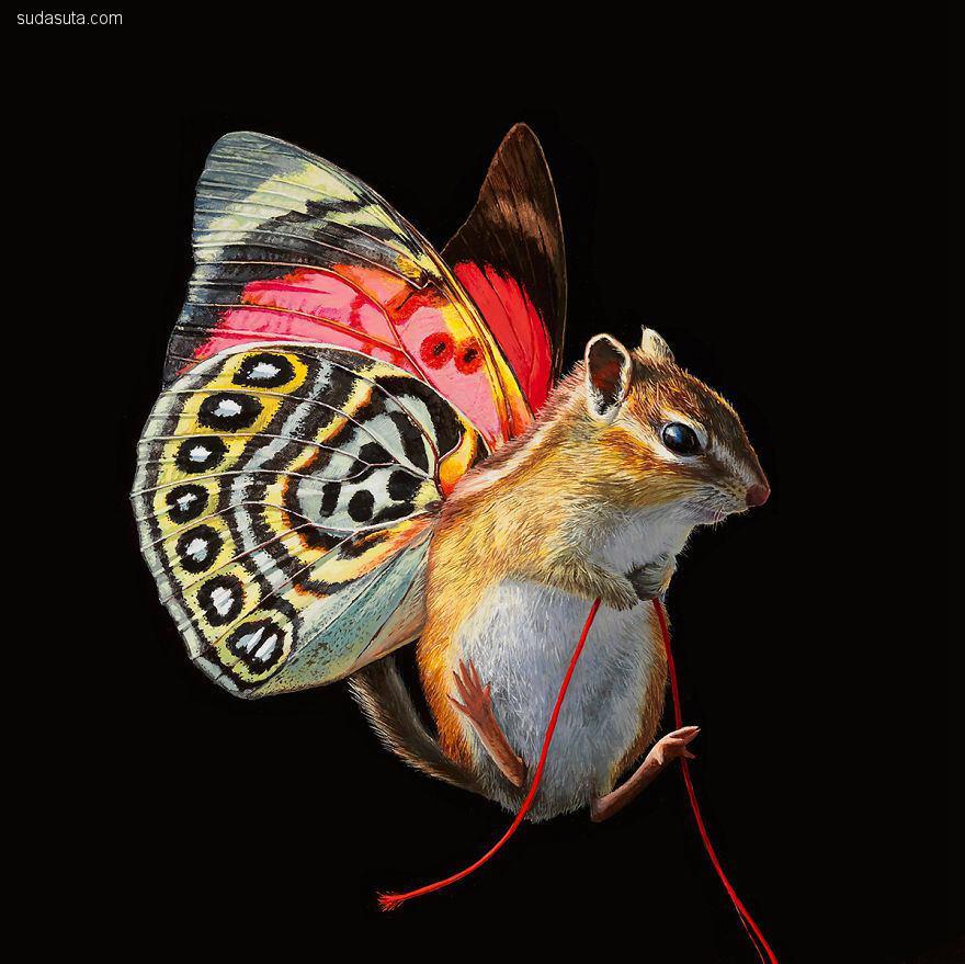 Lisa Ericson 超现实主义绘画艺术欣赏