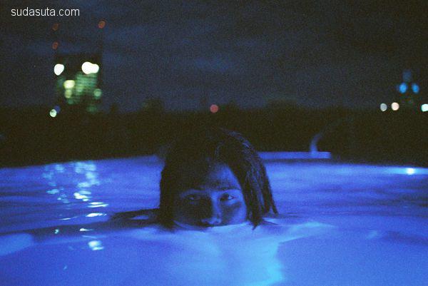 Louis Dazy 双重曝光 迷样的青春摄影