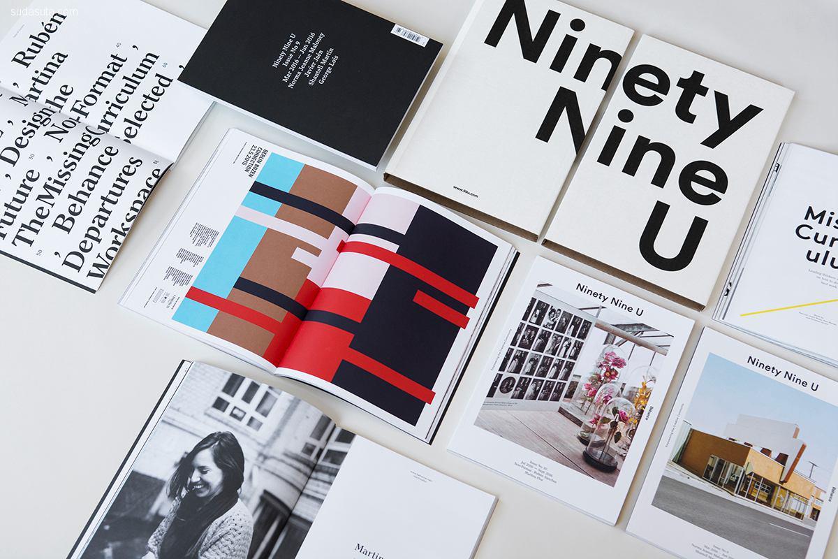 Ninety Nine U 杂志设计欣赏