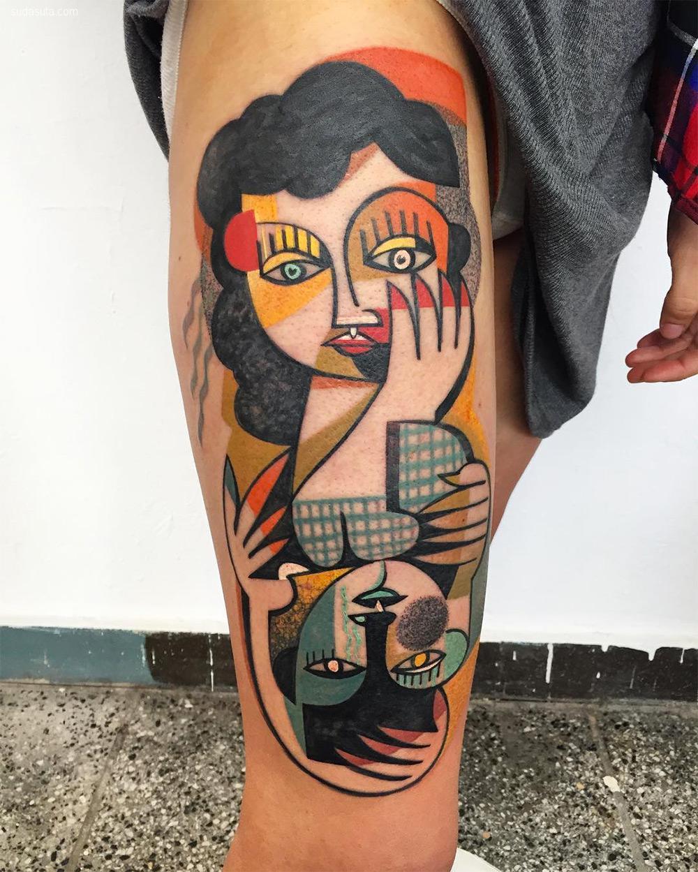 Peter Aurisch 纹身设计欣赏