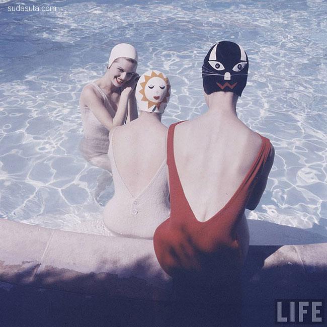 保证回头率的1959年出品的泳帽