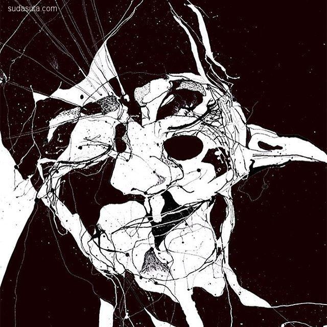 Sandra Beer 解构主义插画欣赏
