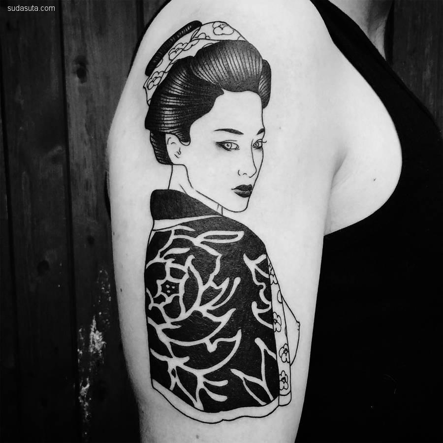 Silly Jane 纹身艺术欣赏
